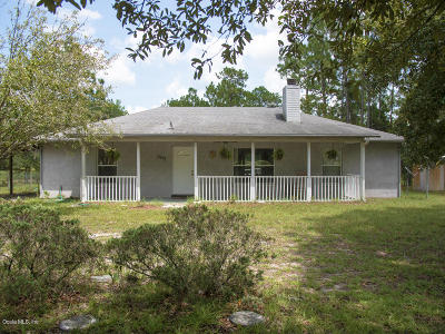 Williston FL Single Family Home Pending-Continue to Show: $179,000