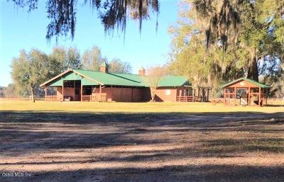 Ocala Farm For Sale: 17050 20th Ave Rd