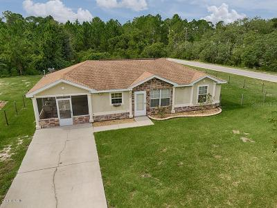 Ocklawaha Single Family Home For Sale: 6 Malauka Pass Way Drive
