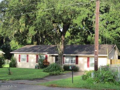 Ocala Single Family Home For Sale: 3508 NE 22nd Court