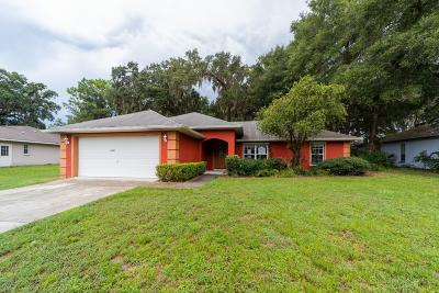 Ocala Single Family Home For Auction: 7750 SW 100th Street