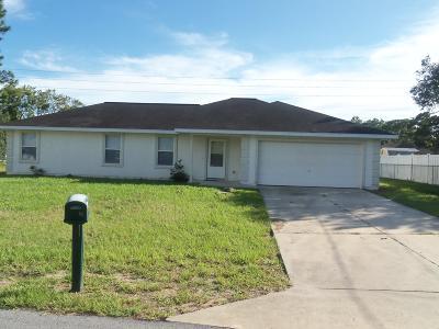 Ocala Single Family Home For Sale: 16 Fir Trail Terrace