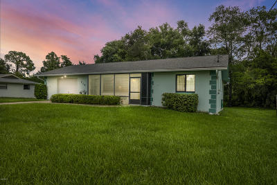 Inverness FL Single Family Home For Sale: $122,000