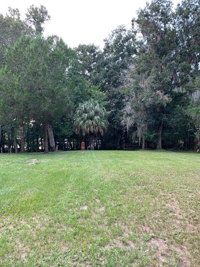 Levy County Residential Lots & Land For Sale: NW 93rd Lane