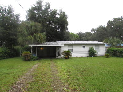 Dunnellon Single Family Home For Sale: 3455 W Cypress Drive