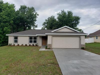Ocala Single Family Home For Sale: 2 Fir Drive Trace