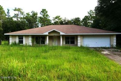 Ocala Single Family Home For Auction: 15511 SW 38th Place