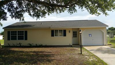 Ocala Single Family Home For Sale: 310 Oak Track Pass