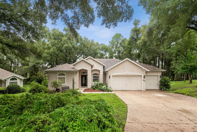 Dunnellon Single Family Home For Sale: 10255 SW 194th Avenue