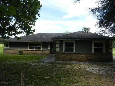 Ocala Single Family Home For Sale: 10030 SE 112th Terrace