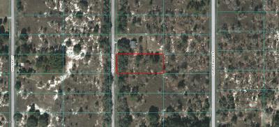 Dunnellon Residential Lots & Land For Sale: SW Shasta Court