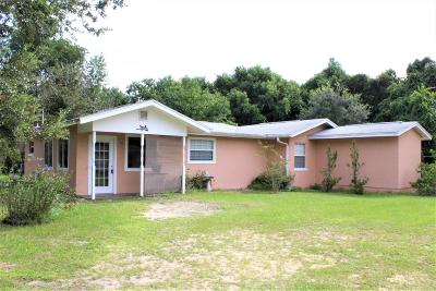 Ocklawaha Single Family Home For Sale: 12365 SE 138th Avenue