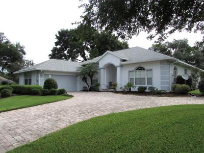 Dunnellon Single Family Home For Sale: 19518 SW 86th Lane