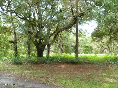 Levy County Residential Lots & Land For Sale: 16190 NE 3rd Place