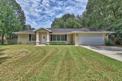 Ocala Single Family Home For Sale: 80 Teak Loop