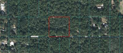 Dunnellon Residential Lots & Land For Sale: SW 153rd Lane