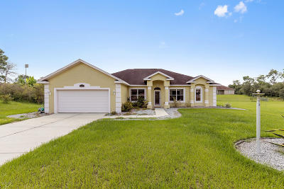 Ocala Single Family Home For Sale: 10917 SW 45 Court