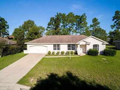 Ocala Single Family Home For Sale: 8411 SW 135th Loop