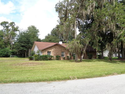 Marion County Single Family Home For Auction: 7491 SW 101st Street Road