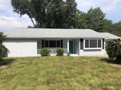 Ocala Single Family Home For Sale: 10833 SW 86th Avenue