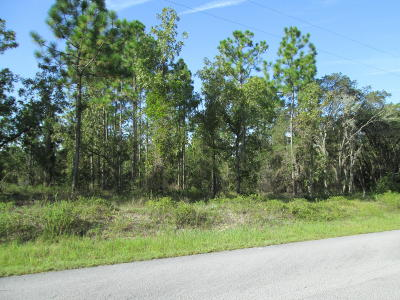 Dunnellon Residential Lots & Land For Sale: SW Nautilus Boulevard #16