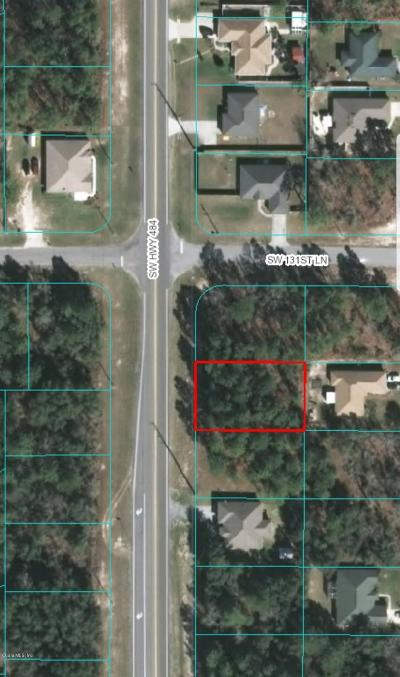 Ocala Residential Lots & Land For Sale: SW 484 Highway