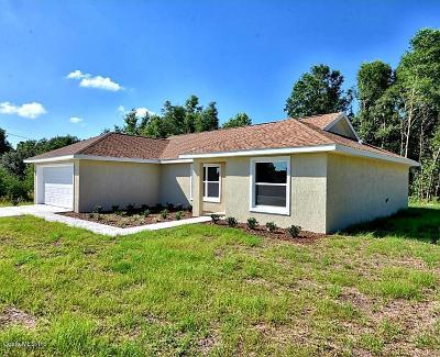 Ocala Single Family Home For Sale: 142 Willow Road Road