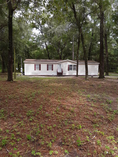 Dunnellon Mobile/Manufactured For Sale: 3883/3887 SW 186th Court