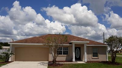 Ocala Single Family Home For Sale: 77 Dogwood Drive Pass