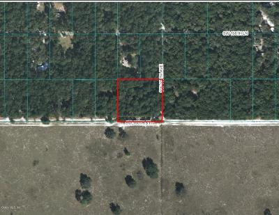 Dunnellon Residential Lots & Land For Sale: SW 160th Street