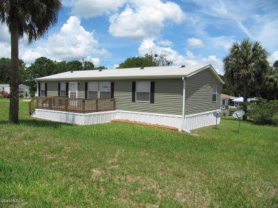 Ocala Mobile/Manufactured For Sale: 4091 SE 56th Terrace