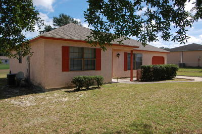 Marion County Single Family Home For Sale: 317 Oak Track Pass