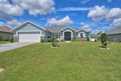 Ocala Single Family Home For Sale: 9668 SW 52nd Court