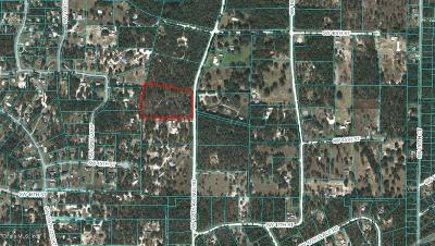 Ocala Residential Lots & Land For Sale: SW 165 Avenue Road