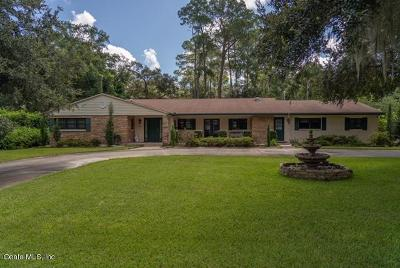 Ocala FL Single Family Home For Sale: $680,000