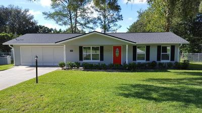Belleview Single Family Home For Sale: 6200 SE 125th Place
