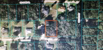 Citrus County, Levy County, Marion County Residential Lots & Land For Sale: SE 134 Street
