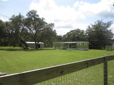 Silver Springs Single Family Home For Sale: 15528 NE 314 Highway