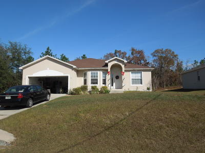 Ocala Single Family Home For Sale: 8469 SW 138th Place