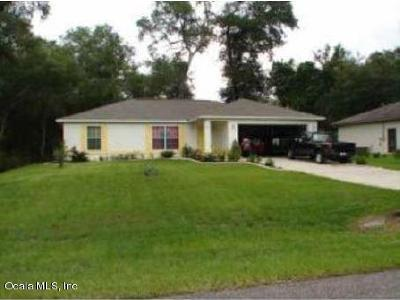 Ocala FL Single Family Home For Sale: $161,500