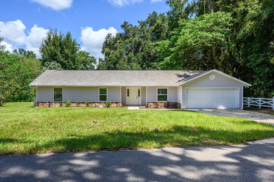 Ocala FL Single Family Home For Sale: $154,900