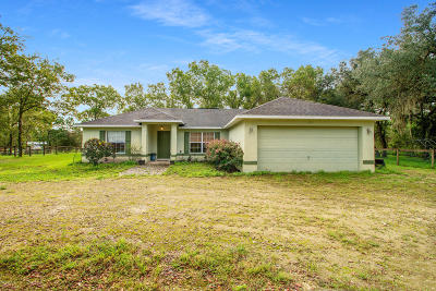 Morriston FL Single Family Home For Sale: $268,000