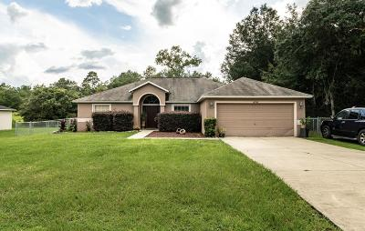 Ocala Single Family Home For Sale: 14948 SW 46th Circle