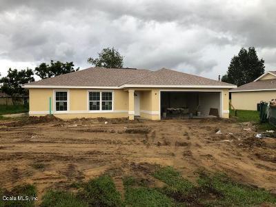 Ocala Single Family Home For Sale: 129 Juniper Way