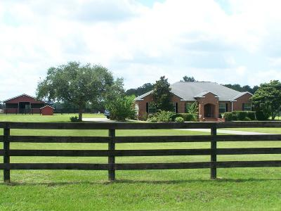 Ocala Farm For Sale: 6730 NW 83rd Terrace