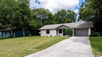 Belleview Single Family Home For Sale: 11425 SE 75th Court