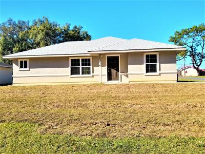 Williston Single Family Home For Sale: 470 NE 2nd Street