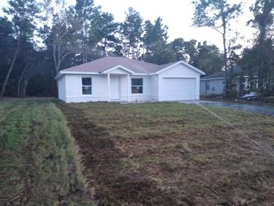 Ocala Single Family Home For Sale: 4521 SW 155th Place Road