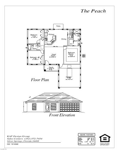Ocala Single Family Home For Sale: 2786 SW 167th Lane