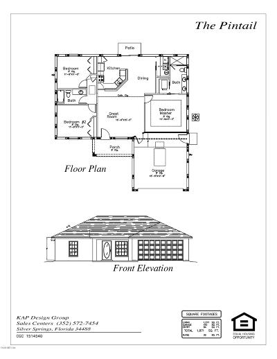 Ocala Single Family Home For Sale: 4102 SW 140th Street Road